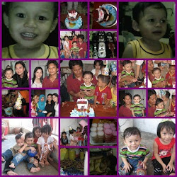 my son's b'day on july