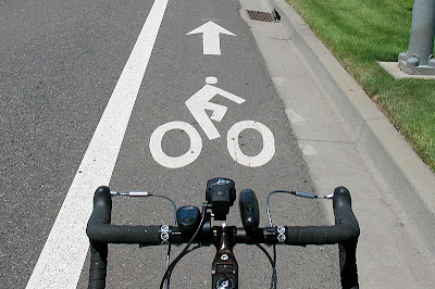 Image of bike lane