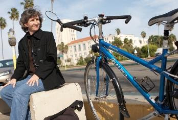 Image of Kathy Keehan, executive director of the San Diego County Bicycle Coalition