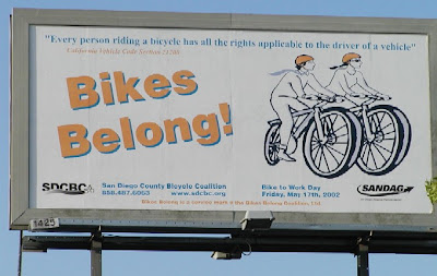 Image of Bikes Belong billboard