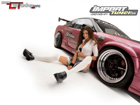 tuning cars and girls. hot Car tuning. tuning cars