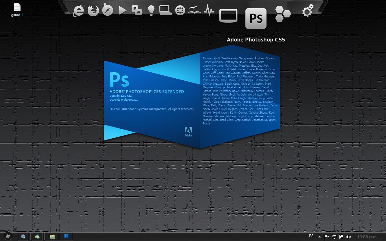 Descarga crack Adobe Photoshop cs5