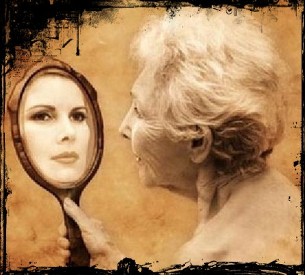 Aos Anos Mais Do Que Nunca Adora O V No Espelho Coloca Um