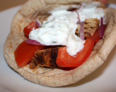 elly says opa chicken gyros This was some very flavorful chicken chicken gyros source: elly says opa ingredients: 125 lbs chicken (i used boneless, skinless breasts) 4.