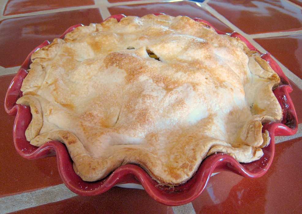 APPLE A DAY: Pear Pie with Maple and Ginger