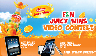 F&N 'Juicy Wins' Contest