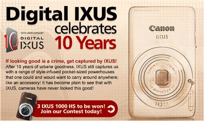 Canon 'The Big One-O' Contest