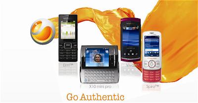 Sony Ericsson 'Go Authentic' Contest