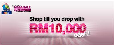 Malaysia Mega Sale Mega Win Contest