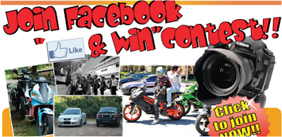 M3Shoppe.com 'Like and Win' Contest
