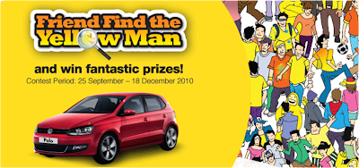 Digi 'Friend Find the Yellow Man' Contest