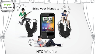 HTC Wildfire 'Brings Friends Together' Contest