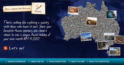 Tourism Australia 'There's Nothing Like Australia' Contest