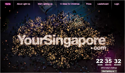 Tourism Singapore 'Light Up Christmas in Singapore' Contest