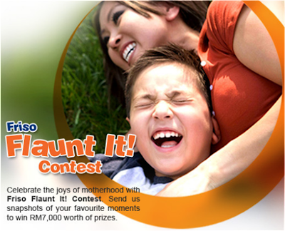 Friso 'Flaunt It' Contest