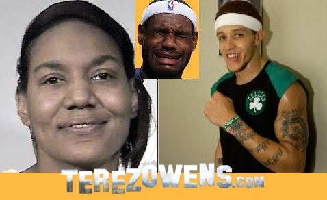 lebron james mom and delonte west pictures. lebron james mom delonte west.