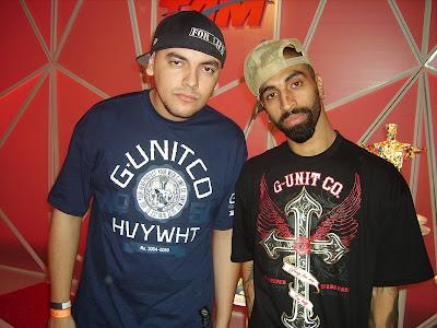 Os Rappers DG e Anão lançam Selo e fecham contrato com a G-Unit Clothing