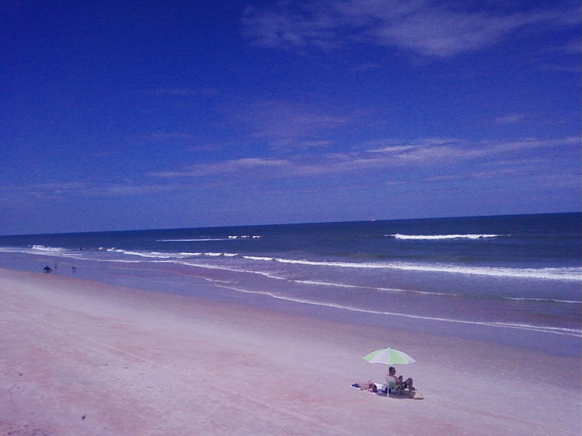 High Tide At Flagler Beach Fl