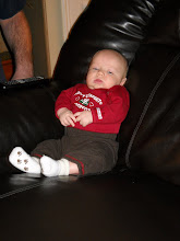 Gabriel takes Grandpa's Chair