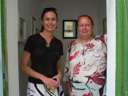 Barbara Valley e Brigitta Rossetti, Galleria Alcatraz di Hallein 2008