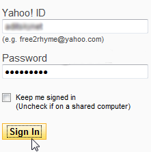 Sign In Ke Yahoo