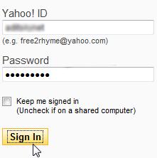 Sign In Ke Yahoo