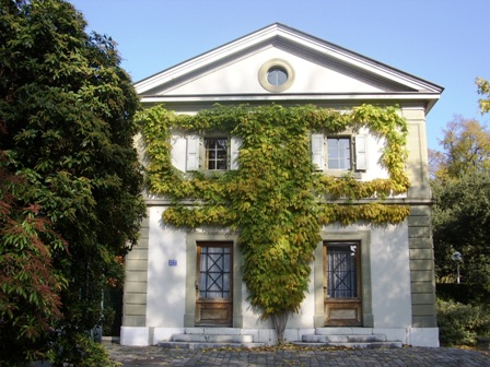 Maison du jardinier entrée villa Moynier