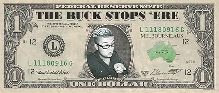Luke Buckmaster's blog: The Buck Stops 'ere