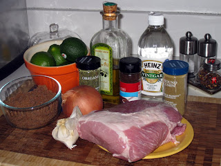 Shredded pork fajitas ingredients