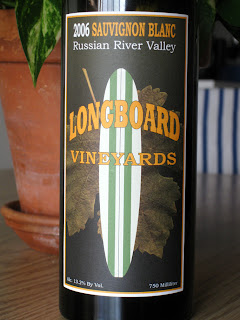 Longboard Vineyards 2006 Sauvignon Blanc