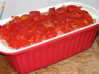 Top with chopped tomatoes