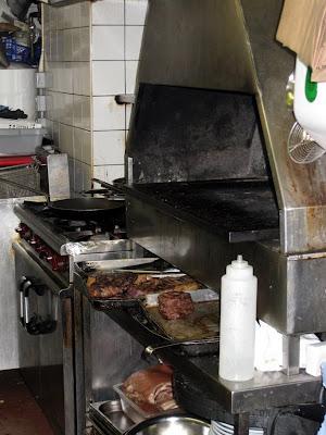The charcoal grill - Hawksmoor