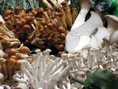 Nameko and Brown Beech mushrooms