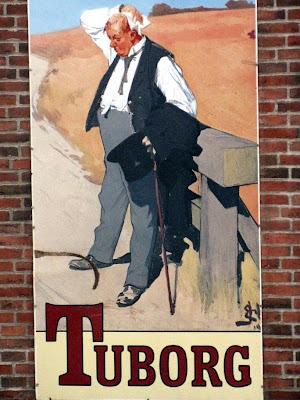 Tuborg beer ad - Middlefart, Denmark