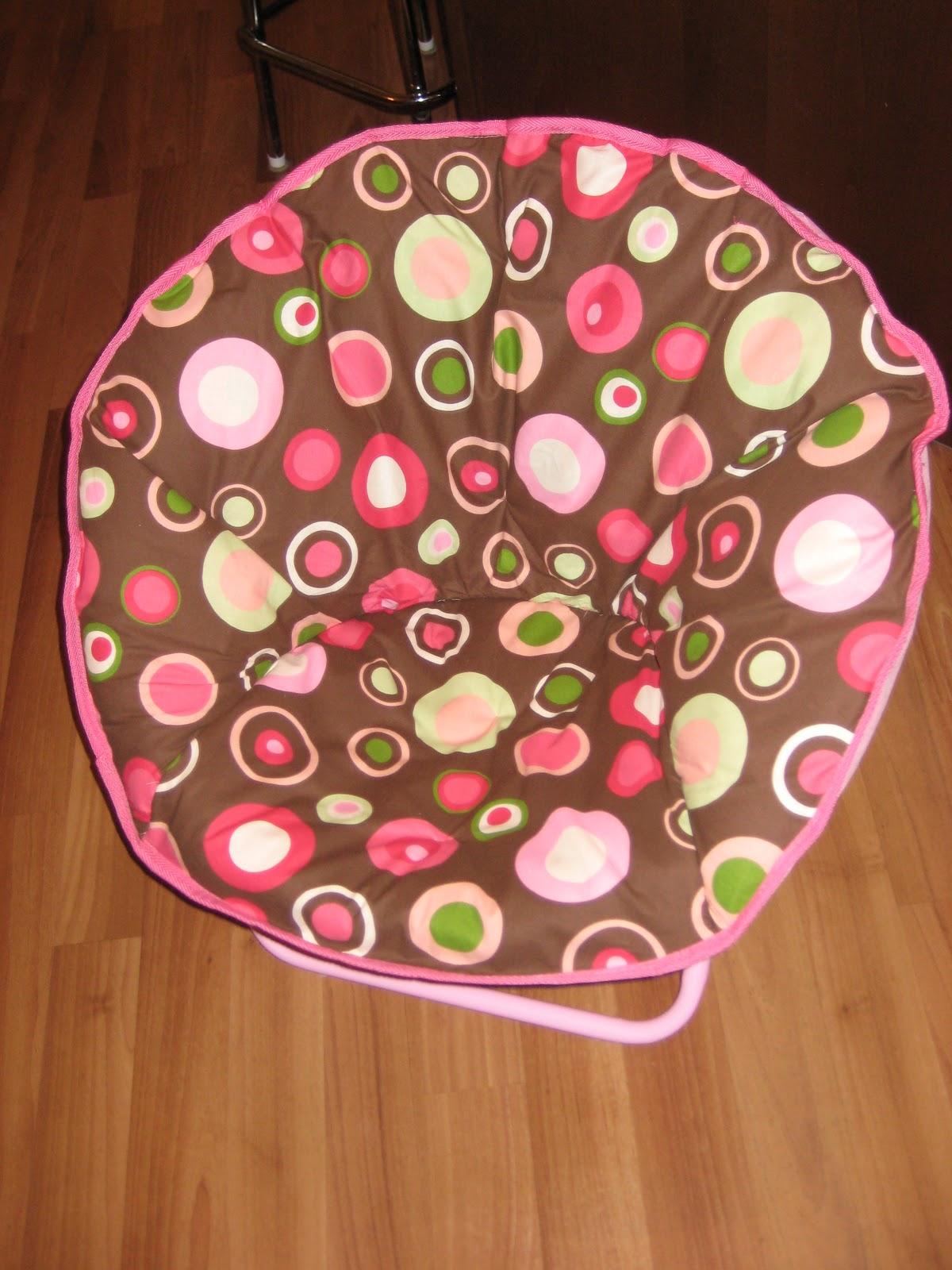 Merveilleux Saucer Chair Re Cover