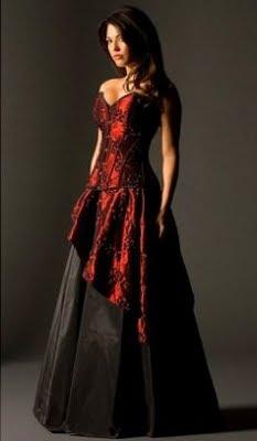 Billige gothic kleider