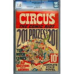 Circus The Comic Riot #1