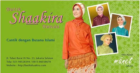 Busana Muslim Butik Shaakira : Baju Muslim Berkualitas