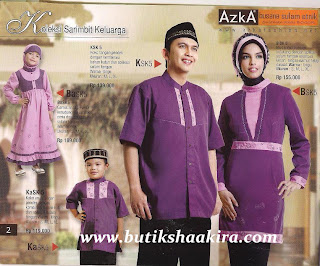 ... Butik & Jilbab: Koleksi Busana Muslim Azka : Sarimb