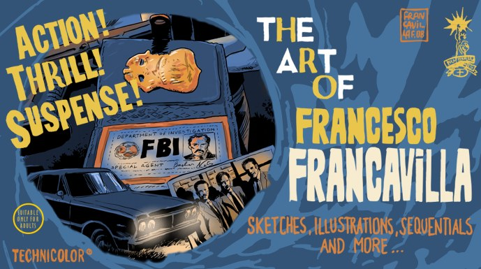 Francesco Francavilla's      Sketch Blog