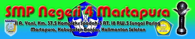 SMP Negeri 4 Martapura