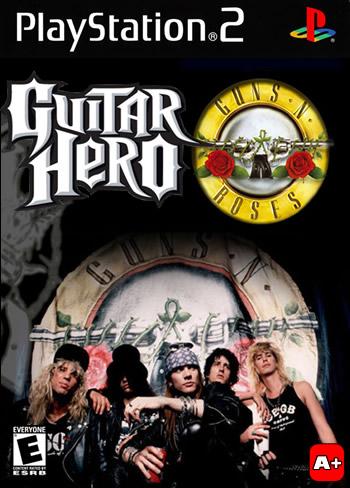 Guns N' Roses Guitar Hero