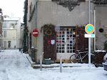 La neige en Arles Janvier 2010
