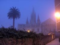 Más niebla en el convento de las salesas, sede del Tribunal Superior de Justicia