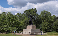 estatua en Hyde Park