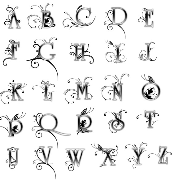 letters fonts for tattoos. Tattoo Lettering Styles