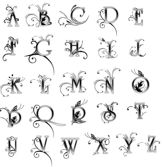 Как сделать красивые буквы для ников в аватарии 391