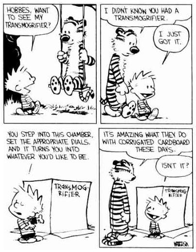 Calvin and Hobbes / Bill Waterson