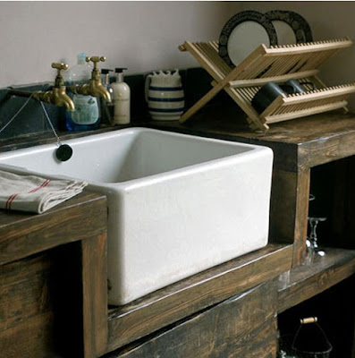 Dreaming of an apron style farm sink , similar to this one on ...