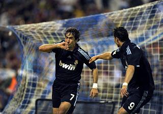 Raul With C.Ronaldo